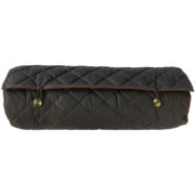 The Alice Foxx Glastonbury dog travel bed rolled