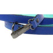 The Alice Foxx Matisse dog lead showing clip fastening