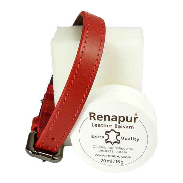 Renapur Leather Balsam with Alice Foxx dog collar