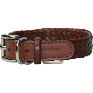 Alice Foxx Venezia dog collar - buckle detail